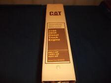 CAT CATERPILLAR 3116 3126 TRUCK ENGINE SERVICE SHOP REPAIR MANUAL 8WL 1WM 4ES