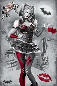 Harley Quinn Poster Batman Arkham Knight 61x91.5cm