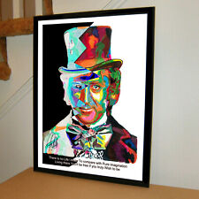 Willy Wonka Gene Wilder Chocolate Factory Movies Poster Wall Art 18x24