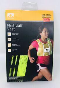 Nathan Nightfall Reflective Safety Vest Running Walking 1Size Fits Unisex