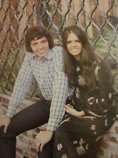Marie and Jay Osmond, Full Page Vintage Pinup, Osmonds Brothers