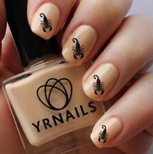 Nail WRAPS Nail Art Water Transfers Decals - Fat Scorpion - S852
