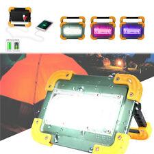 100000LM COB Work Light USB Rechargeable LED Flashlight Flood Lamp Searchlight