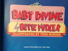 BETTE MIDLER SIGNED  FIRST in dj.  THE SAGA OF BABY DIVINE