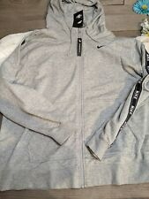 Women's Nike Jacket 2XL Gray Hoodie Zipper B2 MSRP-$70