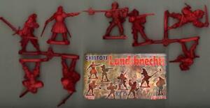 Chintoys 1/32 LANDSKNECHTS Figure Set