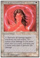 Circle of Protection: Red MTG MAGIC Unlimited English EXC-NM