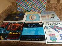 Homeschooling Lot of 8 Educational Science books~Teaching Children Science+