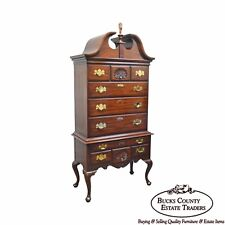 Henkel Harris Mahogany Philadelphia Queen Anne Highboy (B)