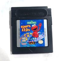 Sesame Street: Elmo's 123s (Nintendo Game Boy Color) Tested + Working