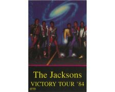 MICHAEL JACKSON : BACKSTAGE PASS - VICTORY TOUR 84 PROMOTER - ORIGINAL (UNUSED)