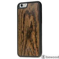 Luxury Apple iPhone 6 6S Dark Rose Vibe Natural Wood Phone Cover Case Premium Be