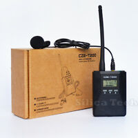 CZE-T200 0.2W Portable FM broadcast Transmitter for Tourism/Church/Meeting