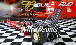 NHRA Kenny Bernstein MILESTONE 1:16 DIECAST Top Fuel NITRO BUD Dragster BRANDON