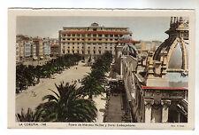 Hotel Embajadores - La Coruna Photo Postcard c1950s