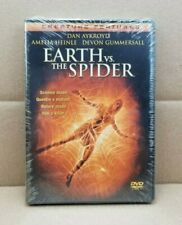Earth vs. The Spider (DVD, 2002) 2001 Film Dan Aykroyd NEW & SEALED - RARE & OOP