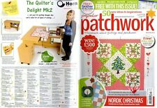 Patchwork popular revista 2014 DEC-Nórdico Navidad, velas en el árbol