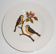 Royal Stafford China Pottery Decoupage Birds Salad Plate