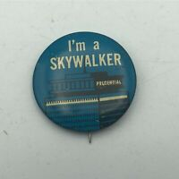 "Vintage I'm A Skywalker Prudential 1-1/4"" Button Pin Pinback Advertising  R6"