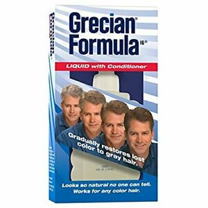 Grecian Formula Liquid with Conditioner   4 Ounce   1 Pack