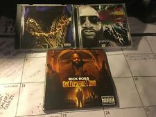 RICK ROSS 4 CD LOT: MASTERMIND DELUXE, HOOD BILLIONAIRE, GOD FORGIVES, I DON'T