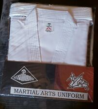 Century Martial Arts Uniform Size 6 White Heavy Canv Top Gm1019Made in Usa 1993