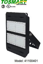 LED Shoebox Pole Light with Flood Mount Bracket 100 Watt Security Fixture