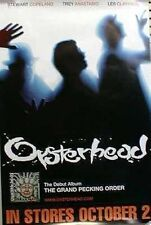 Oysterhead 2001 pecking order poster w/date Flawless New old stock Phish