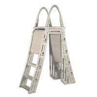 Confer Plastics A-Frame 7200 Above Ground Adjustable Pool Ladder New