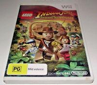 Lego Indiana Jones The Original Adventures Nintendo Wii PAL *Complete*