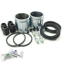 2X Kits de Reparación de Pinza de freno trasera pistones se adapta a Alfa ROMEO 156 01-05 BCR208BX2