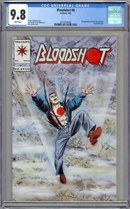 CGC 9.8 Bloodshot #6 (Valiant, 1993)  First Appearance of Ninjak  Colin King.
