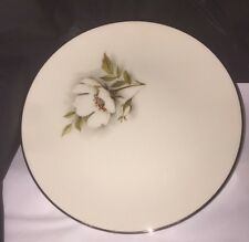 "Nancy Prentiss China IVORY ROSE  6.5"" Salad / Bread Small Plate Excellent NOS"