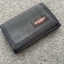 Eastpak Black Wallet East Pak Trifold With Zipped Coin Pocket