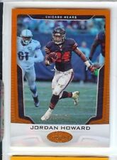 JORDAN HOWARD 2017 PANINI CERTIFIED ORANGE #5/299 PARALLEL CHICAGO BEARS #93