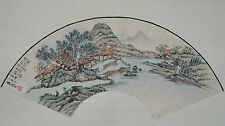 Chinese fan painting (FP60)