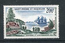 St. Pierre et Miquelon 403 postfrisch / Schiffe ..........................1/3637