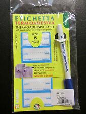 Etichette etichetta termoadesive Mas Art Mb02 marca Biancheria Rosa