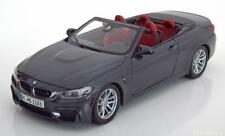 1:18 Paragon BMW M4 F83 Convertible 2014 greymetallic
