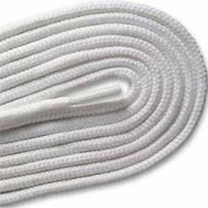 White Strong 90cm Round Shoe Laces For Shoes / Boots  Shoe Care School Work 99p