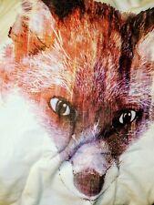 RED FOX DROP SHOULDER PULLOVER WOMEN'S JUNIORS PLUS 18 1/2 LONG SLEEVE CREAM