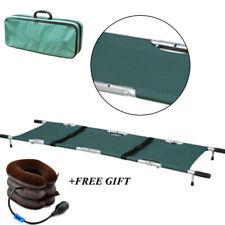Professional Foldable aluminum Medical Stretcher With Wheels Ambulance Portable