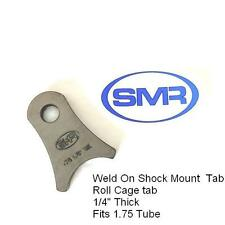 "Weld on shock mount tabs 1/4"" Thick laser cut brackets BY SMR PREMIUM"