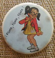 1970's EL CHAVO Chespirito EL CHAPULIN COLORADO Buttons/Pinbacks VINTAGE
