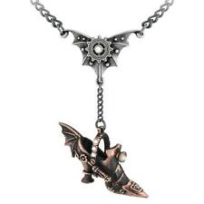 ALCHEMY SPRING HEELED JILL STEAMPUNK NECKLACE SHOE PENDANT JACK GOTHIC  GIFT BOX