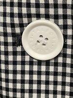 NEW Talbots Black White Blazer Jacket 97% Cotton Lined Petite 12P NWT $199