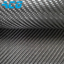 6K Carbon Fiber Cloth Fabric 320GSM twill weave 100%real carbon cloth