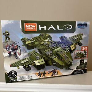 Mega Construx Halo Infinite Vehicle - Pelican Inbound, GNB28 (2024 Pieces) New