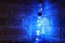 Ciroc Vodka Blue Booze Liquor Bottle Lamp Light 20 String LED