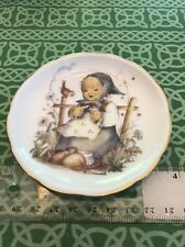 "M. J. Hummel ""He Loves Me"" Reutter German Small Bone China Plate Free Shipping"